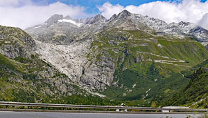 Furka Pass Mountain pass in Switzerland