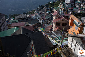 Gangtok in India