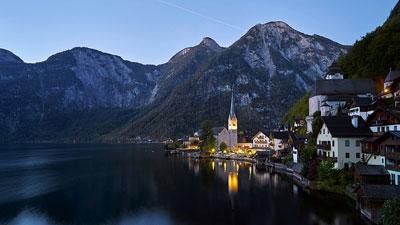 Hallstatt Town in Austria