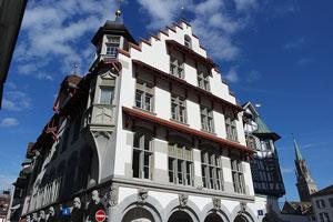 St. Gallen Town in Switzerland