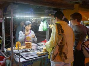 Local Laos Food Stall