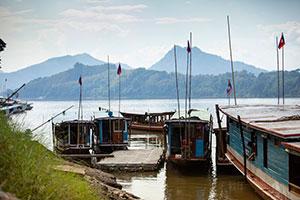 Laos Λάος, Μεκόνγκ, Mekong River