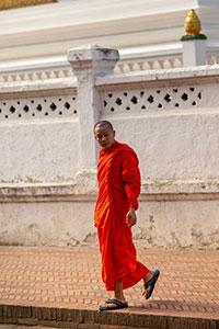 Laos Λάος monk, μοναχός