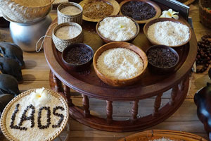 Glutinous rice, Sticky rice, κολλώδες ρύζι