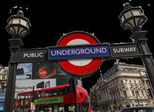 London Underground Metro system, Λονδίνο