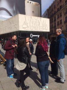 Ετεοκλής Νικολάου Ξενάγηση στη Βαρκελώνη